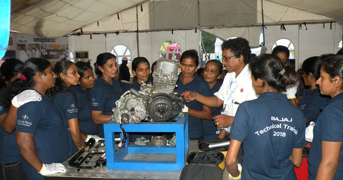 Empowerment of Women through Technical Training -Monaragala