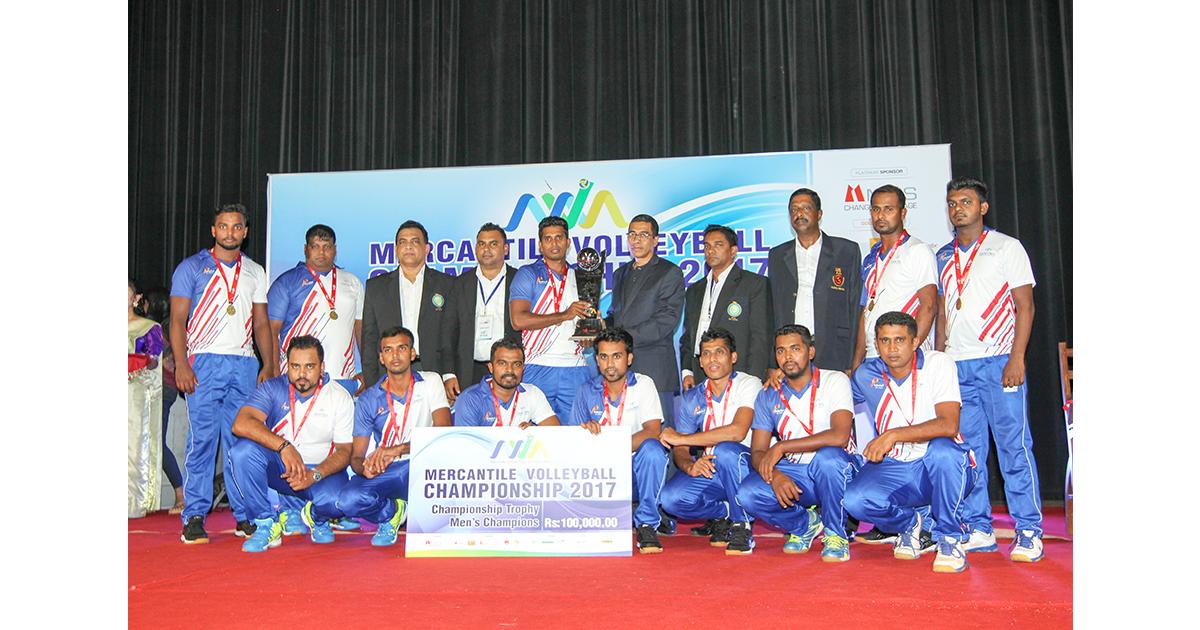 David Pieris Group wins Mercantile Volleyball Championship 2017