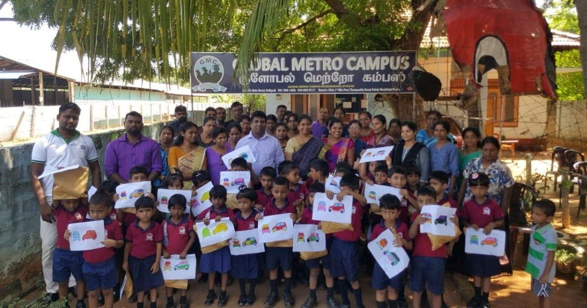 කියුට් එකයි මගේ පවුලයි - Art Competition in Anuradhapura and Jaffna