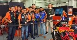 KTM lucky winners witness Moto GP in Malaysia